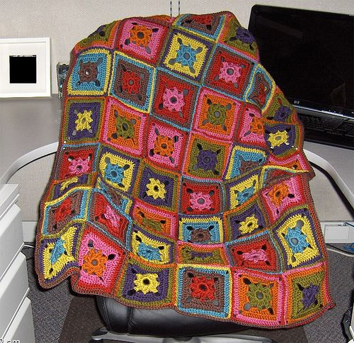 Ravelry: fignations\' Dazzle Afghan   Mo Blankets (2)   Pinterest   Amo