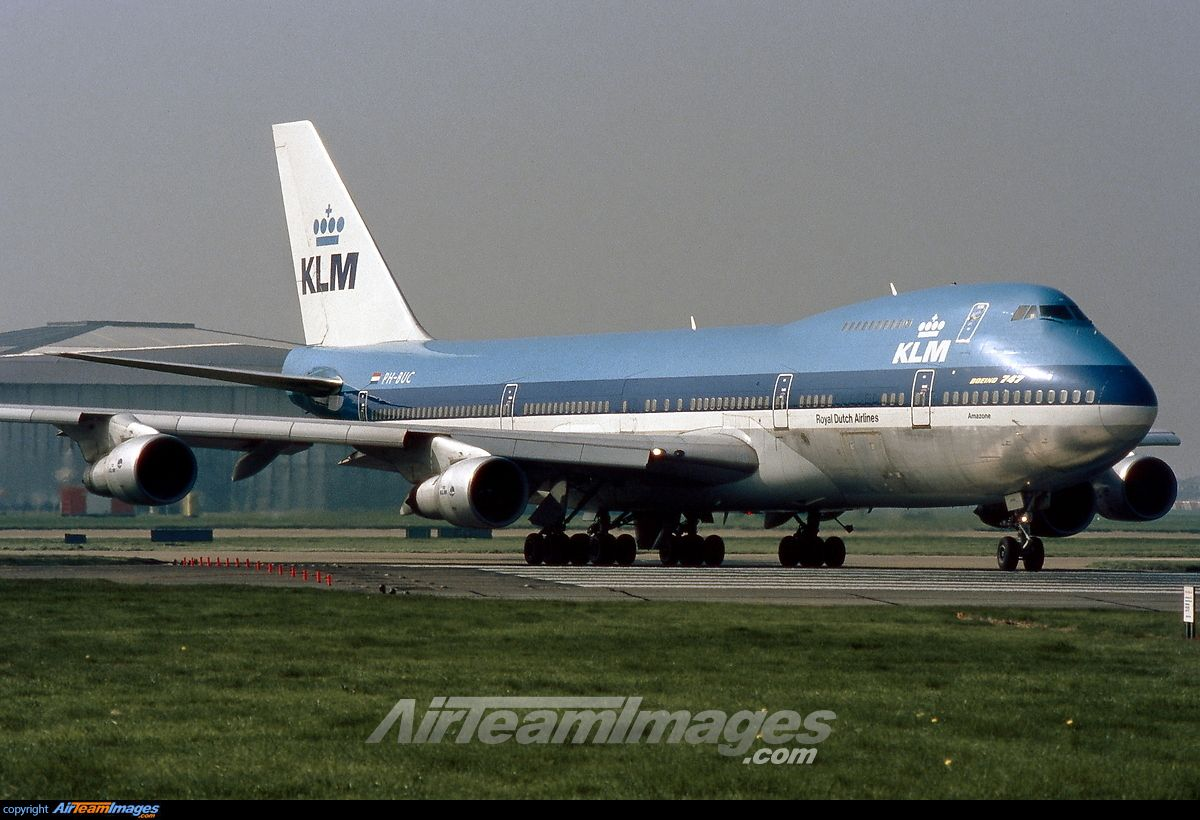 KLM Royal Dutch Airlines Boeing 747-206B