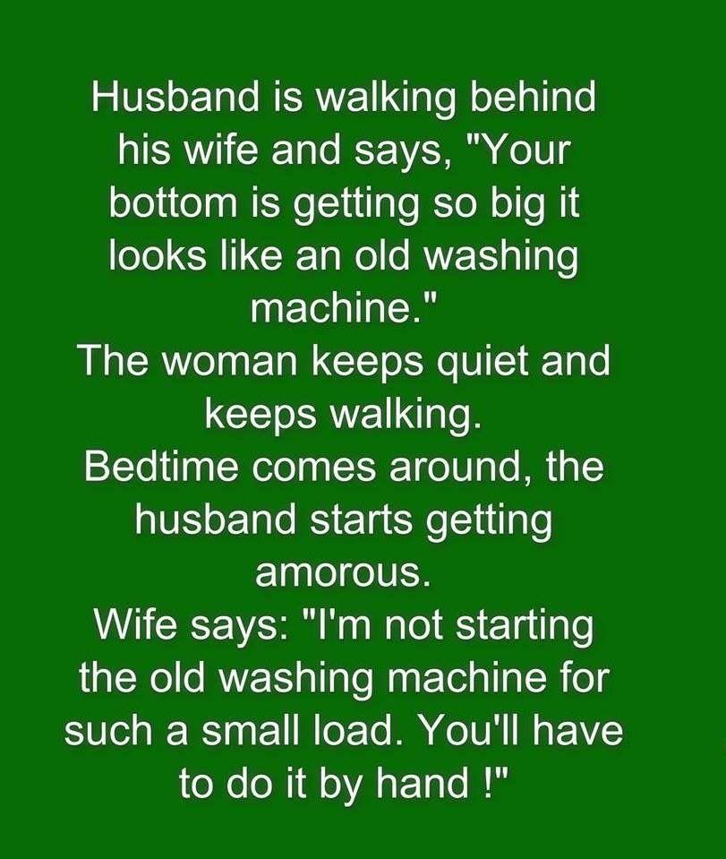 Husband Was Walking Behind His Wife Jokes Humor