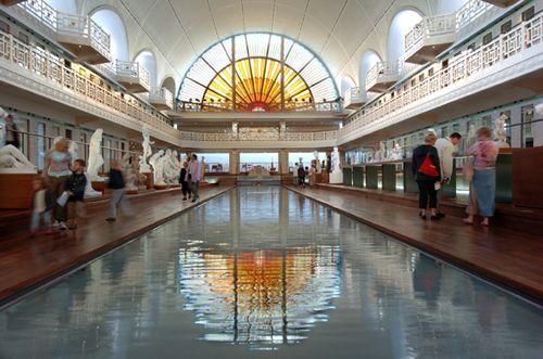 Le musée de la piscine à roubaix implanté sur le site de lancienne