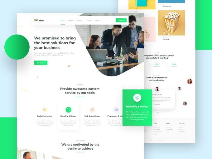 I Will Design Wordpress Website Redesign Website Web Design In 2020 Web Design Agency Website Design Website Design