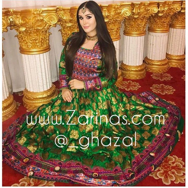 Zarinas afghan dress pictures