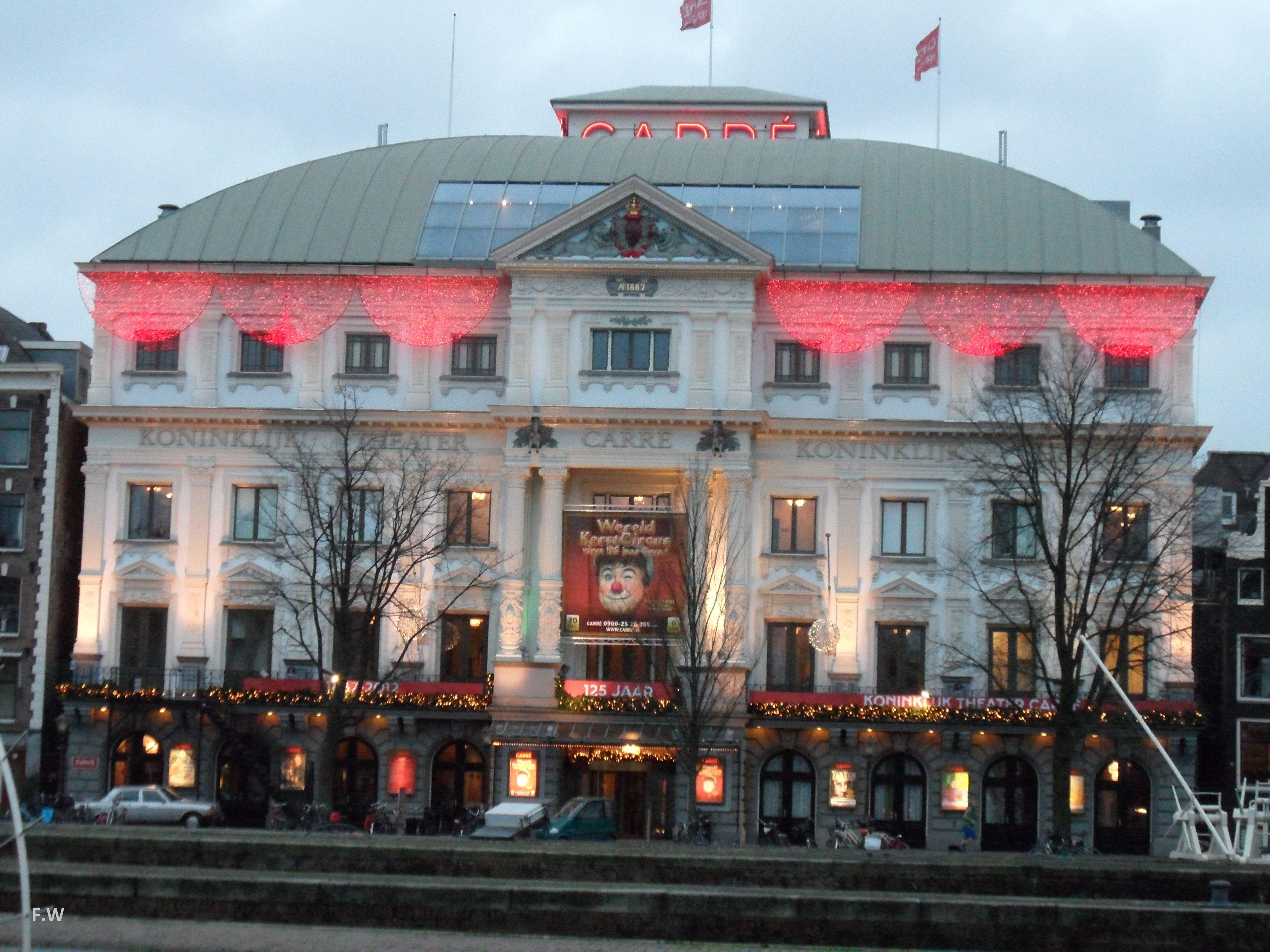 Koninklijk Theater Carre Amsterdam The Netherlands Theater
