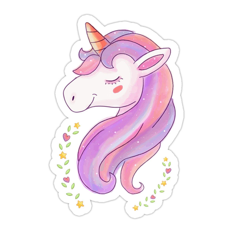 Dreamy Unicorn Sticker