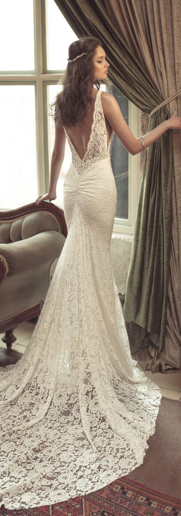 Lace wedding dresses at kleinfeld off the shoulder lace a line