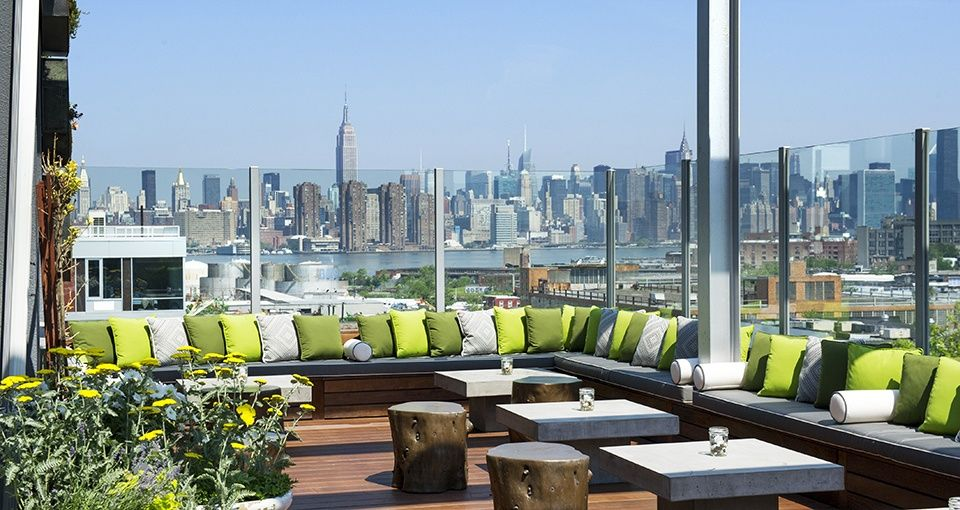King Grove Williamsburg Brooklyn New York Hotels King Grove Hotels Nyc Rooftop Rooftop Design Best Rooftop Bars
