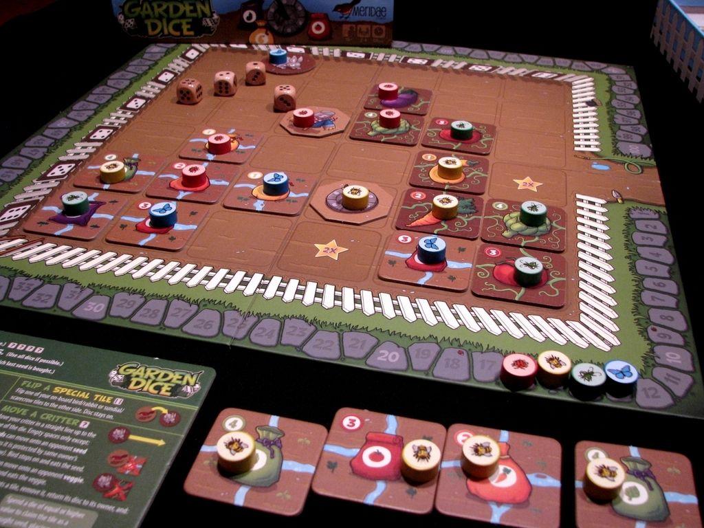 Garden Dice Tabletop games, Board game geek, Board games