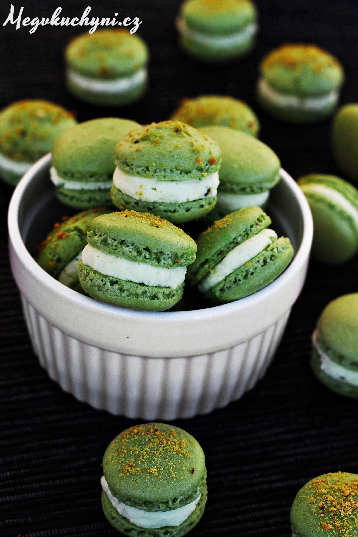 Pistáciové macarons | Pistachio macarons