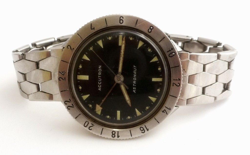 Vintage bulova accutron astronaut 214 steel watch vintage bulova accutron bulova watches for Astronaut watches