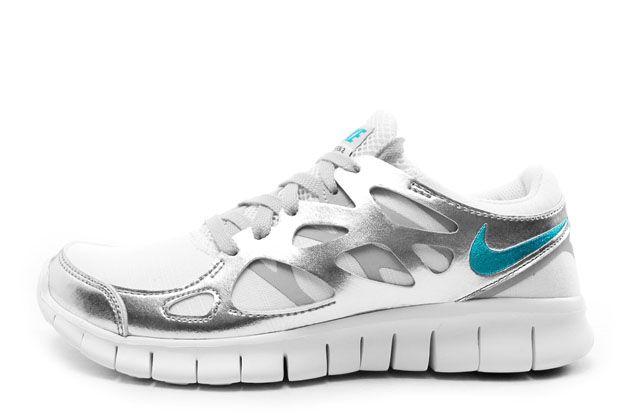 fabricación hábil super calidad precios de liquidación Wmns Nike Free Run 2 PRM Ext 555340 100 NSW Running Sail Turquoise ...
