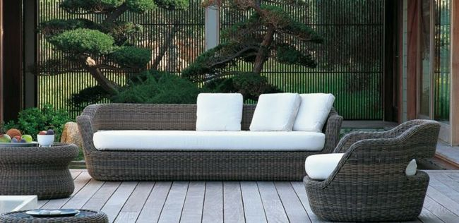 Rattan Garden Furniture   Garden Paradise In The Mediterranean Style