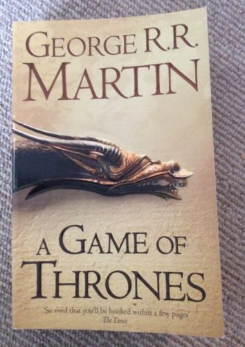 A game of #thrones a song of ice and fire book 1 by george r.r #martin #paperback,  View more on the LINK: http://www.zeppy.io/product/gb/2/281915713777/