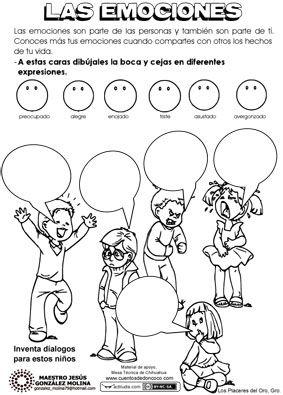 Las Emociones Actiludis Emociones Preescolares Emociones Actividades Emociones