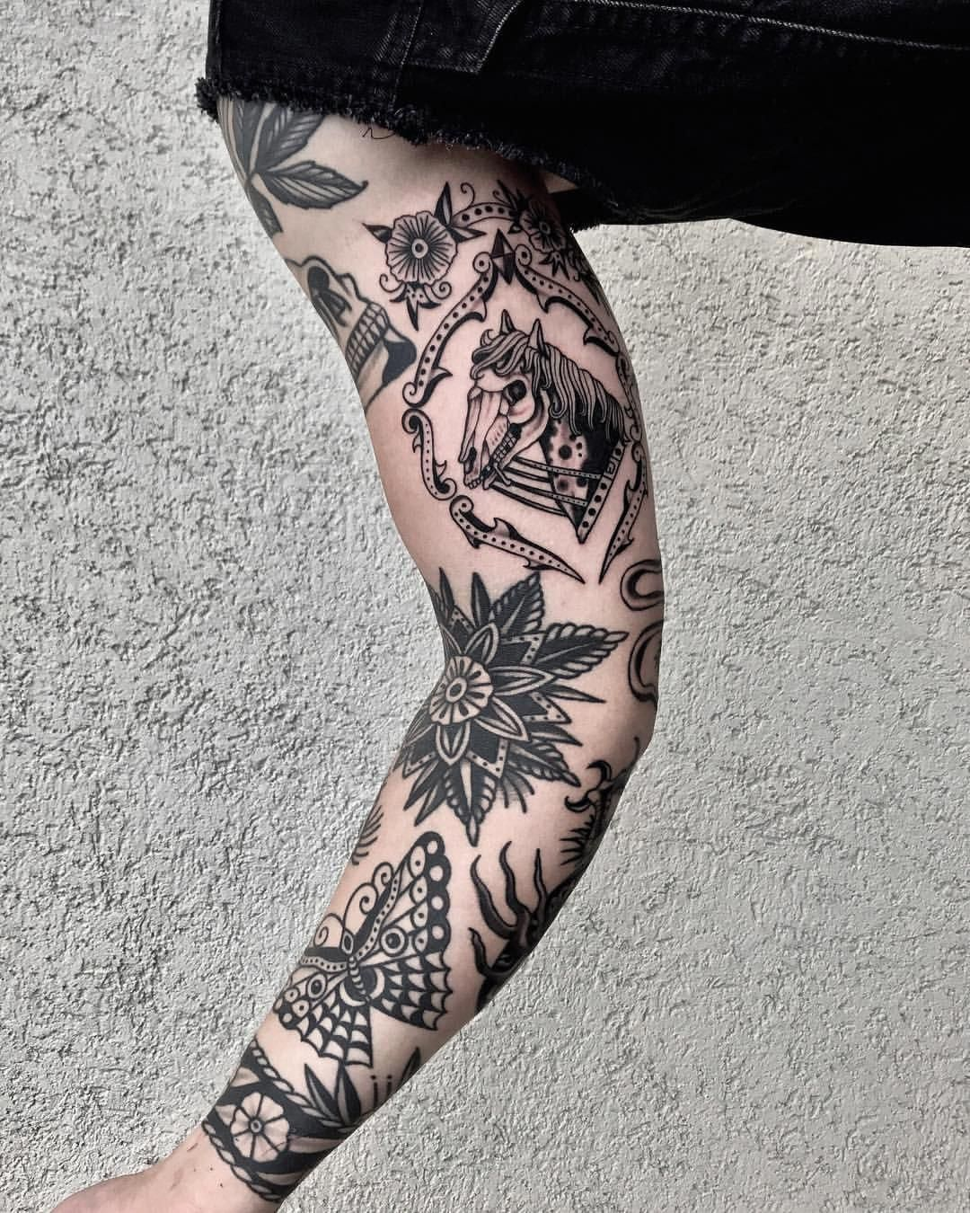 Tattoos For Men Black Ink Tattoos Traditional Black Tattoo Tattoos For Guys