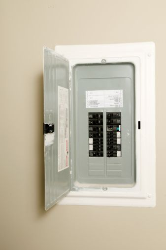 Are There Restrictions On Where To Mount A Residential Circuit Breaker Box Circuit Breaker Box Breaker Box Diy Electrical