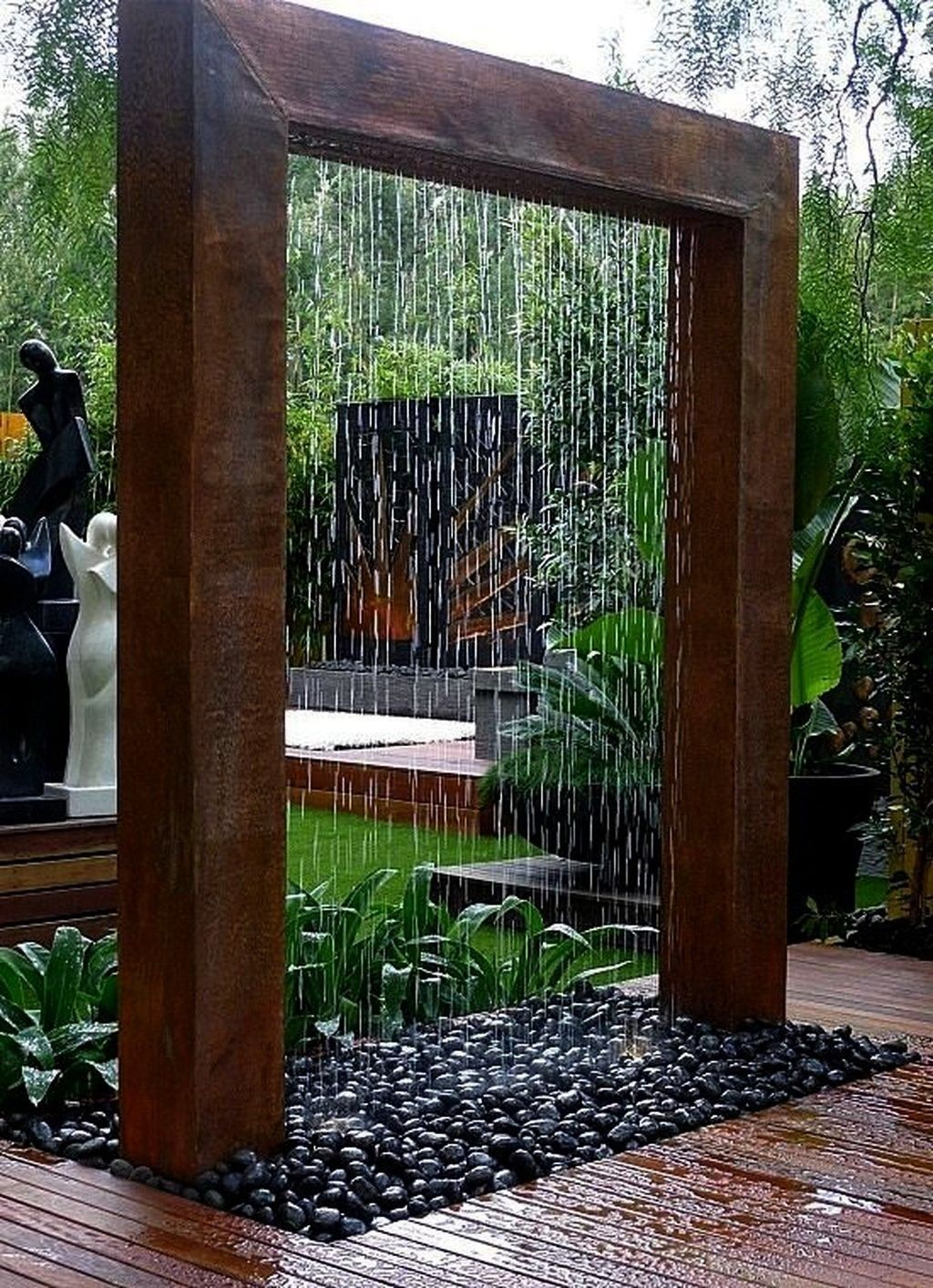 landscaping waterfalls backyard awesome vintage in on extraordinary low maintenance front yard and backyard landscaping ideas have a lovely garden with less work id=65335