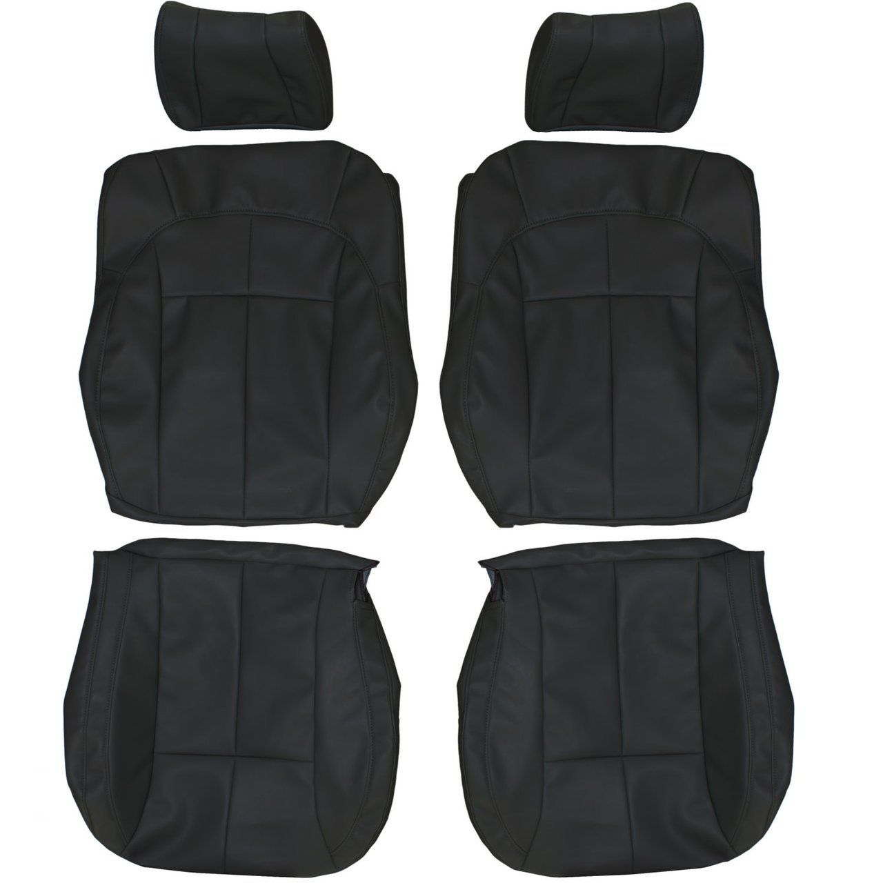 2002 2004 Jeep Grand Cherokee Custom Real Leather Seat Covers