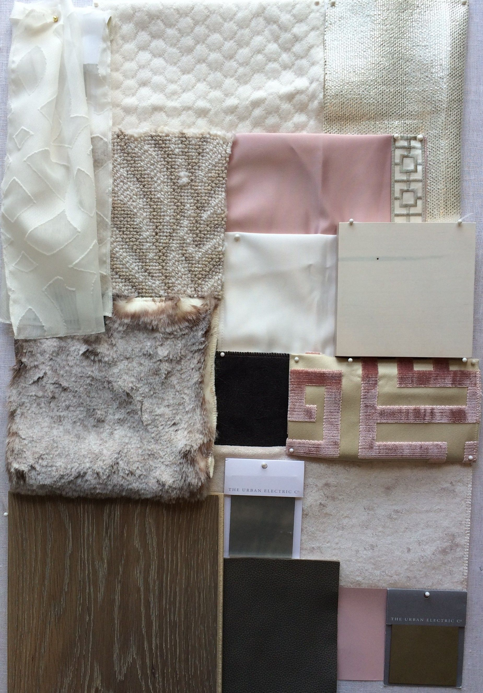 Kul interiors blush bedroom color palate color pop pinterest