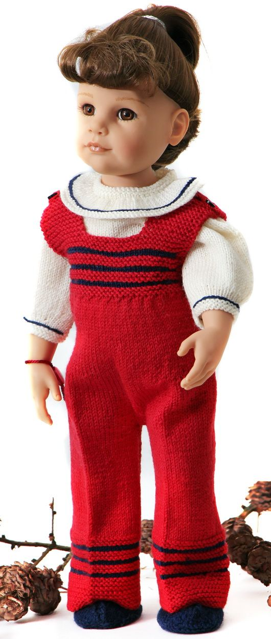 Free doll knitting patterns | free knitting patterns for 18 dolls ...