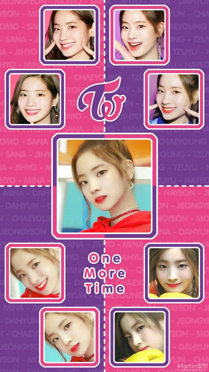 Twice wallpaper Lockscreen Kpop Dahyun One More Time