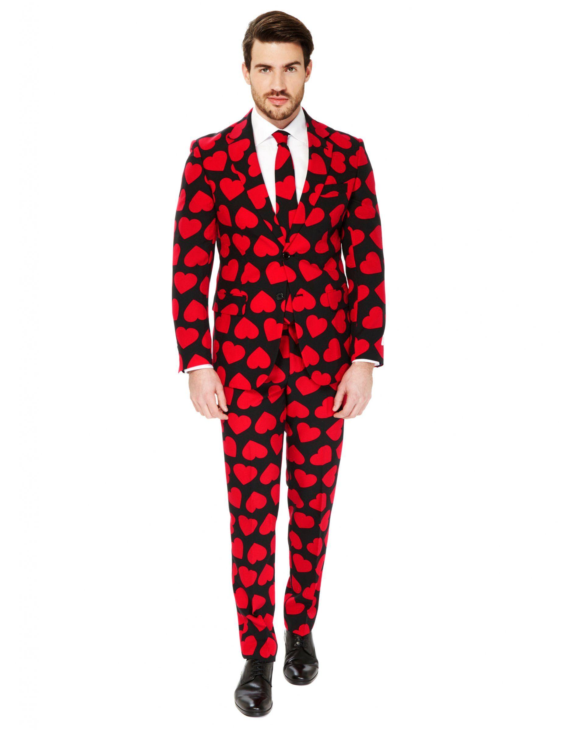 King of Hearts von Opposuits - schwarz rot  4bd4902c2a7