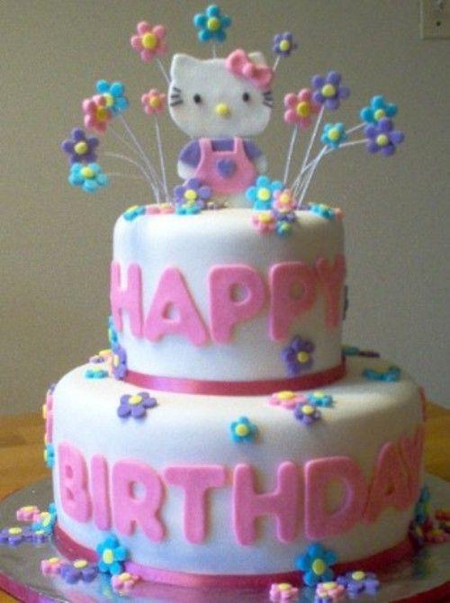 cute hello kitty birthday cake Google Search Birthdays