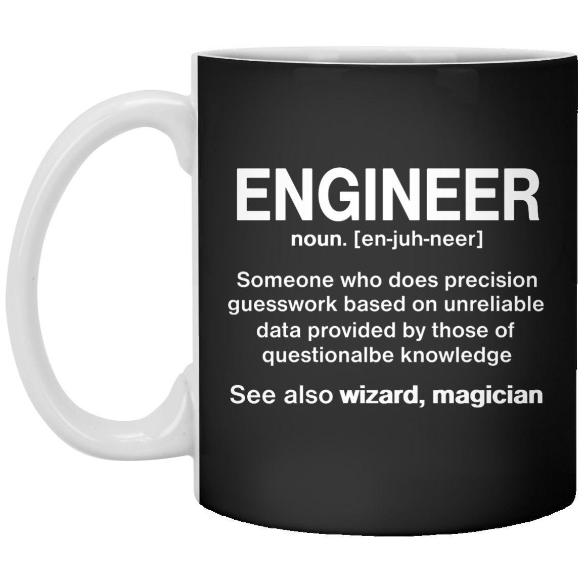 funny engineer meaning mug- engineer noun definition 11 oz. mug