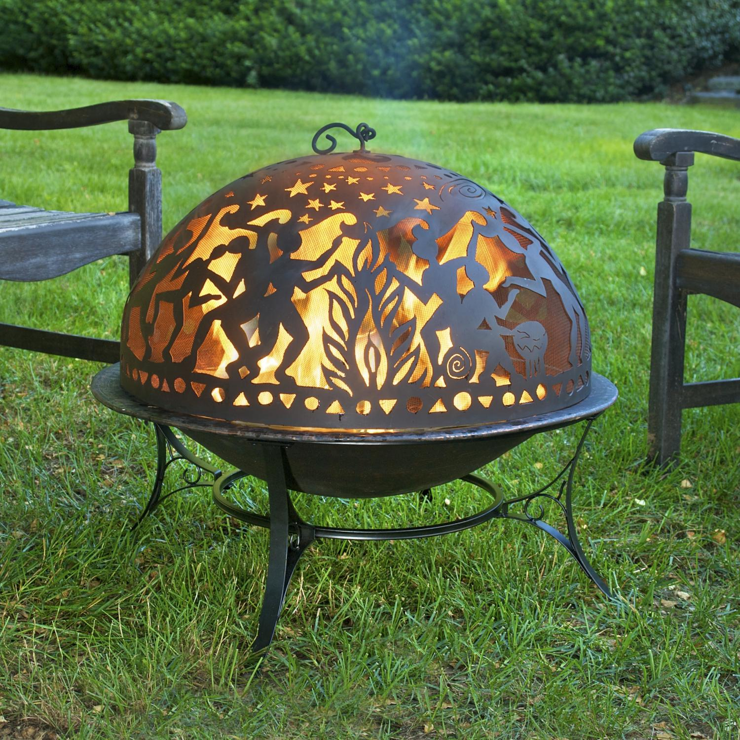 Good Directions Full Moon Party 30 Inch Wood Burning Fire Pit Ultimate Patio Fire Pit Sets Wood Burning Fire Pit Outdoor Fire Pit