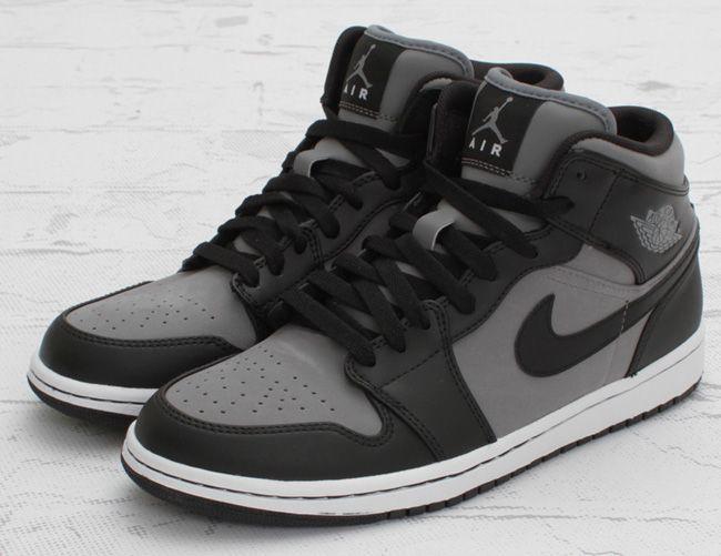 online store e97ca 5cc3e Air Jordan 1 Mid - Cool Grey   Black