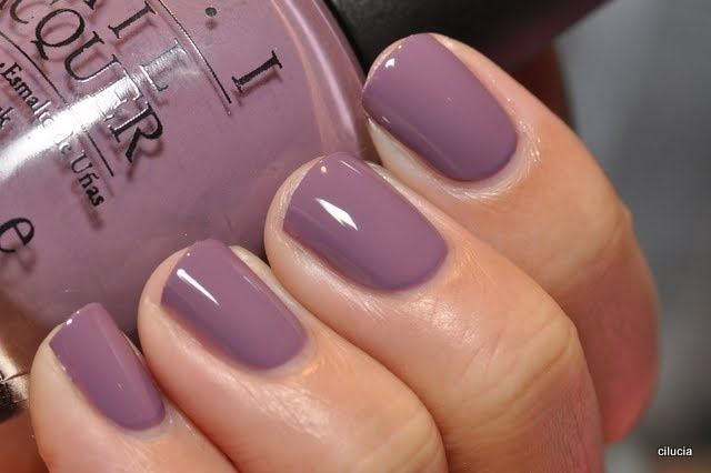 Dusty Lilac Opi Nailed It Nails Nail Colors Fall