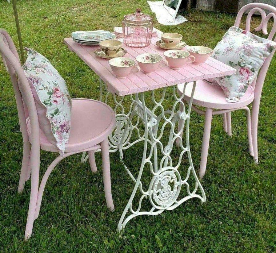 36 Cool Outdoor Vintage Tea Party Ideas