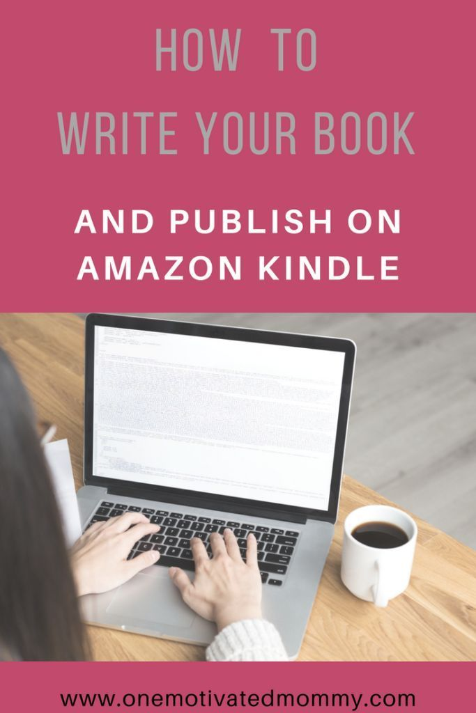 how to write a book and publish on amazon kindle direct