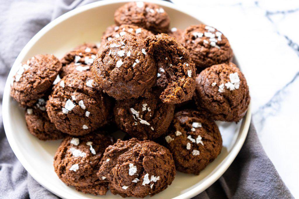 4 ingredient gluten free brownie mix cookies recipe