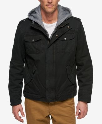 LEVI'S Levi'S® Men'S L64 Trucker Jacket With Bib & Hood. # ...