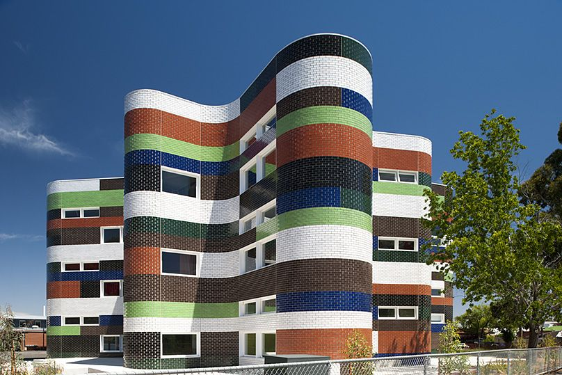 Fitzroy High School by McBride Charles Ryan #architecture #building #Melbourne #Schoolbuilding #brickwork