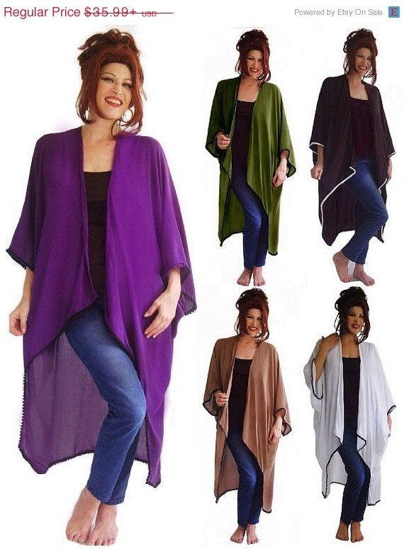 20% OFF JAN SALE K160 Jacket Mini Pom Poms 3/4 Reglan Sleeve Casual Womens Fashion Misse Plus Made To Order s m l xl 1x 2x 3x 4x 5x 6x Choos