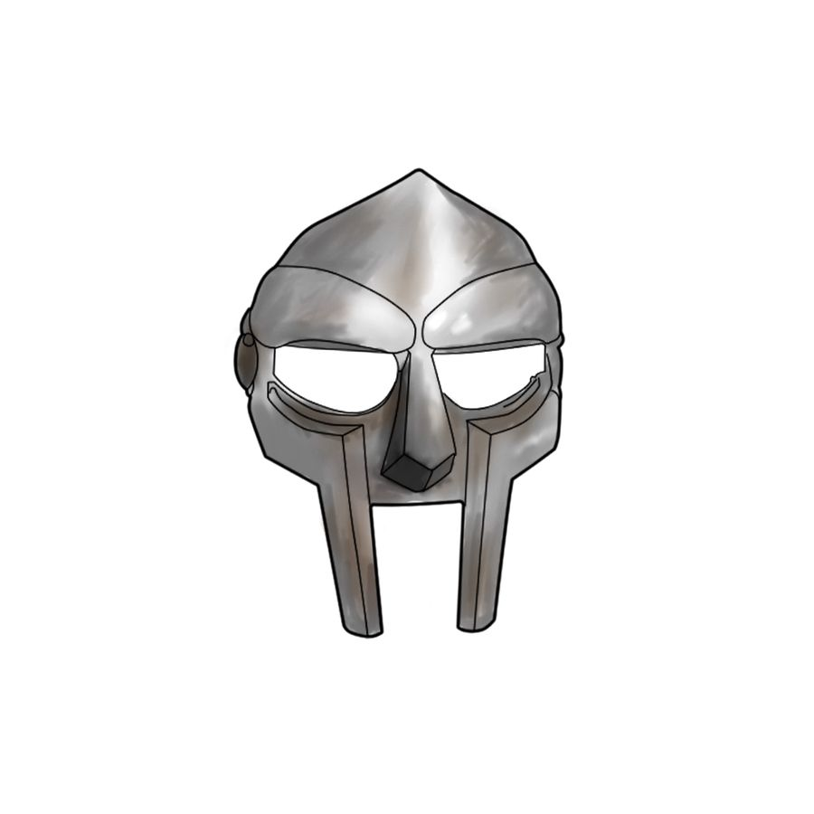 Another Mf Doom Pic Could Work As A Micro Finger Tat Mf Doom Mf Doom Mask Evangelion Tattoo