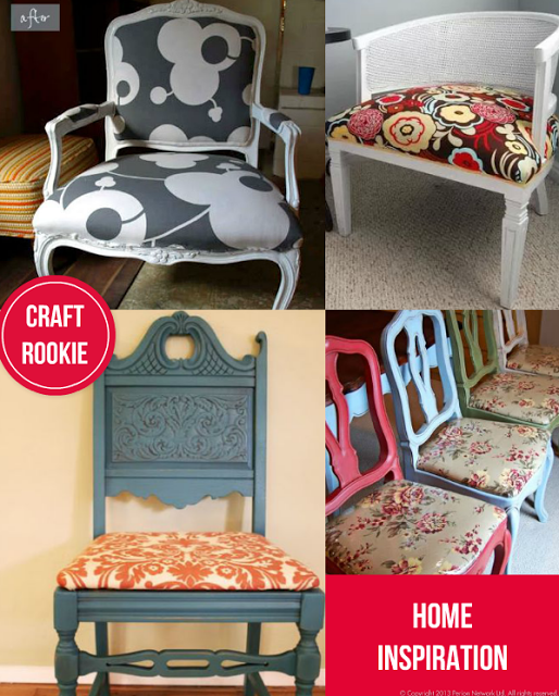 Craft Rookie: Great Chair Makeovers