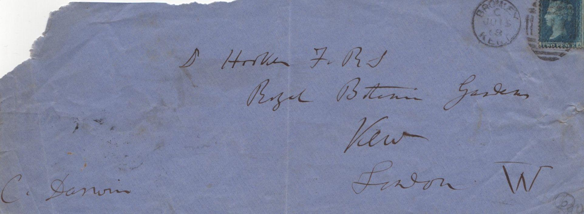 Darwin charles 18091882 english naturalist autograph