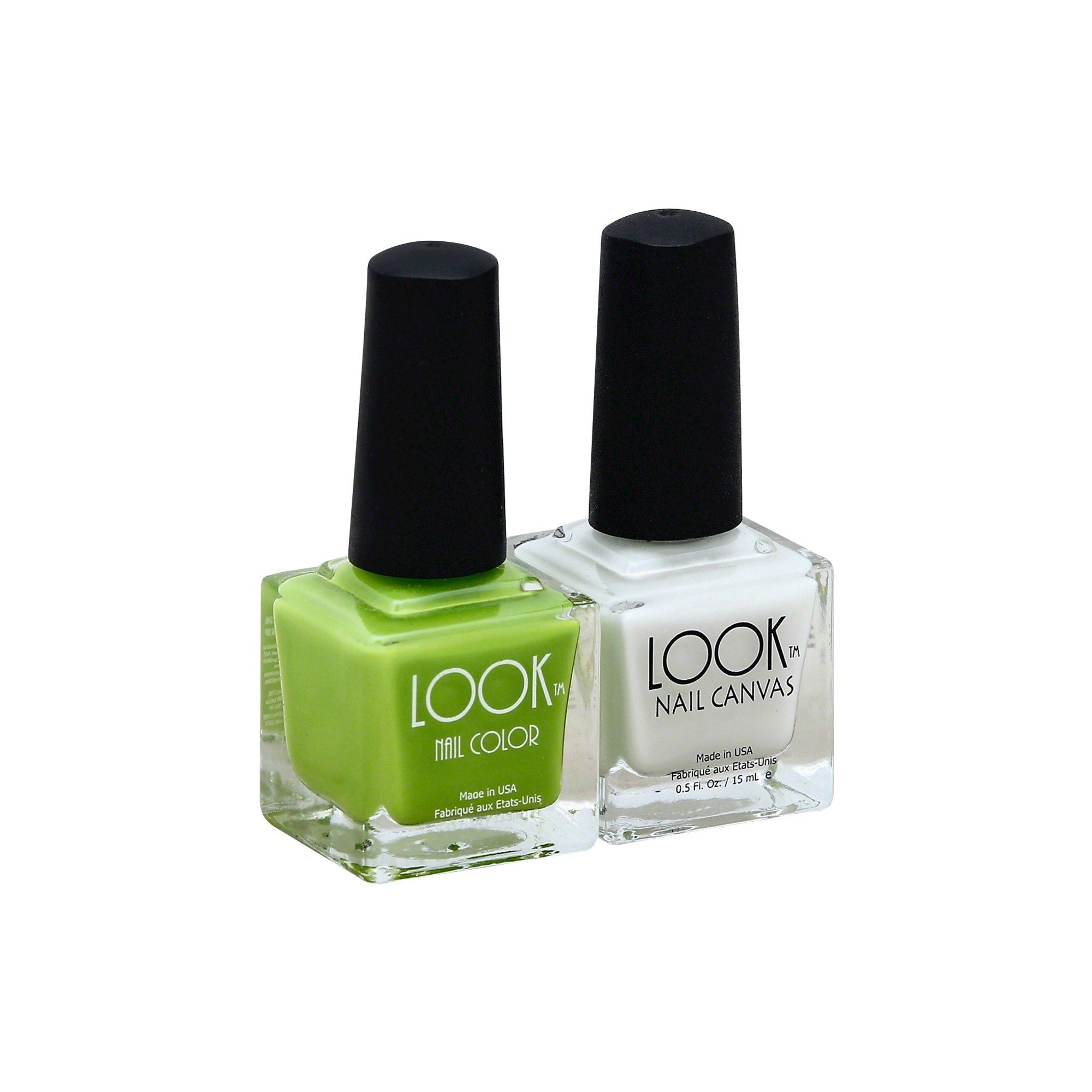 Look Nail Color Cruelty Free & Vegan Nail Polish Set Lime
