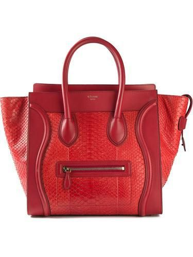 260ec7e343 CELINE VINTAGE  Luggage  tote  bag  celine  women  covetme  celinevintage   redbag  wishlist  summerbag
