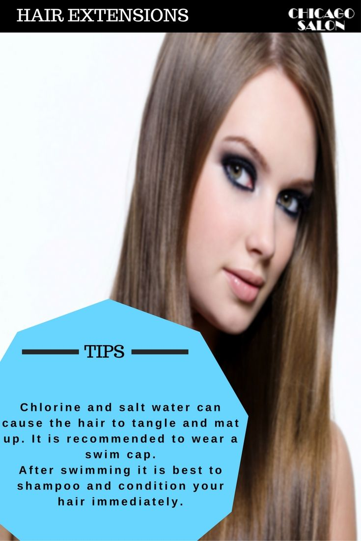 Chlorine And Salt Water Can Cause The Hair To Tangle And Mat Up