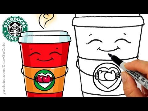 How To Draw A Starbucks Frappuccino Cute Step By Step