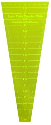 The Crumbler Tumbler Quilting Template Ruler by Miss Rosies Quilt Co ~ 3 inch to 5 inch Solo Cups