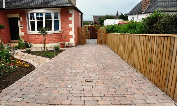 Image Result For Small Driveway Designs Home Exterior Design - Front garden driveway ideas uk