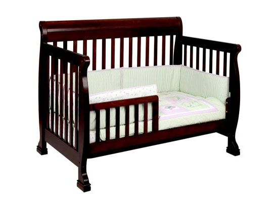 Four In One Cribs With The Davinci Kalani 4 In 1 Convertible Crib Green Design Blog Cribs Baby Cribs Convertible Convertible Crib