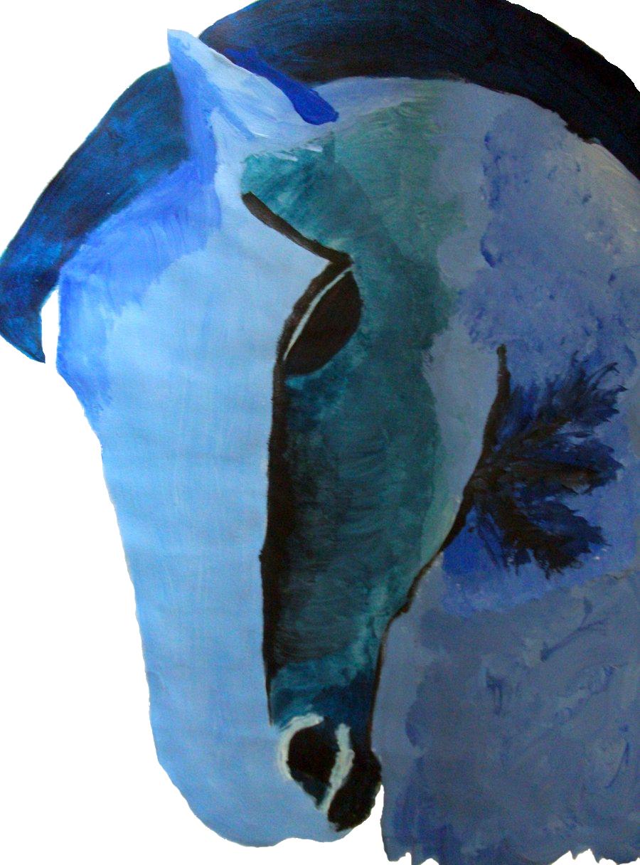S Kreastudio Der Blaue Reiter Franz Marc Blue Horse Futurism Art