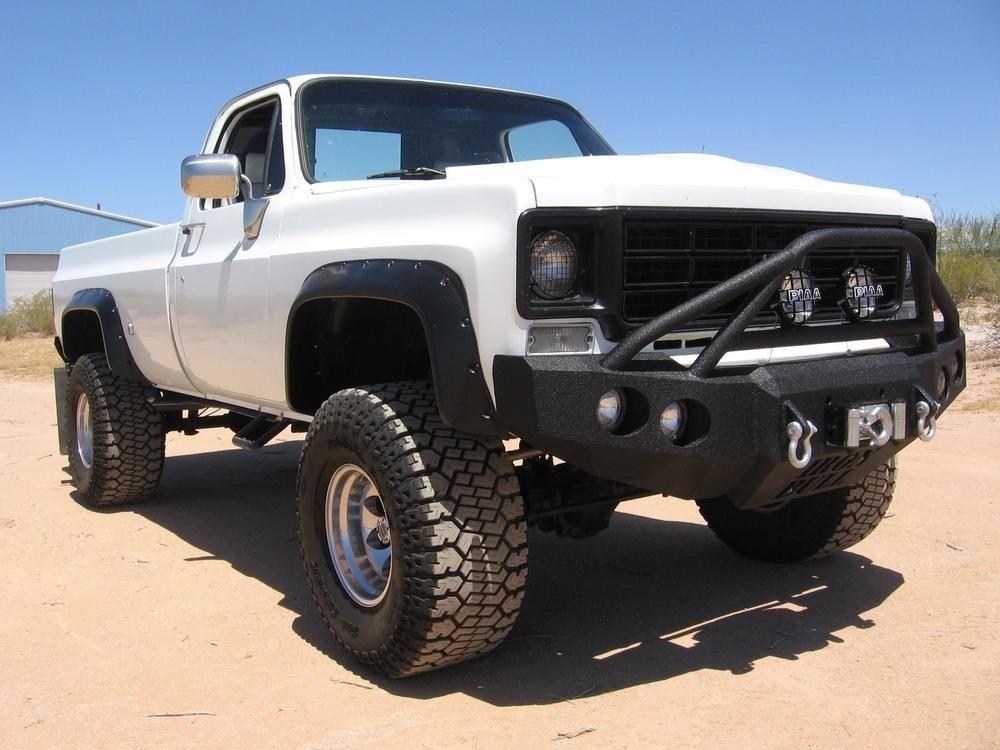 1973 1980 Chevrolet C10 C20 C30 K10 K20 K30 Front Base Bumper In 2020 Trucks Classic Chevy Trucks Custom Pickup Trucks