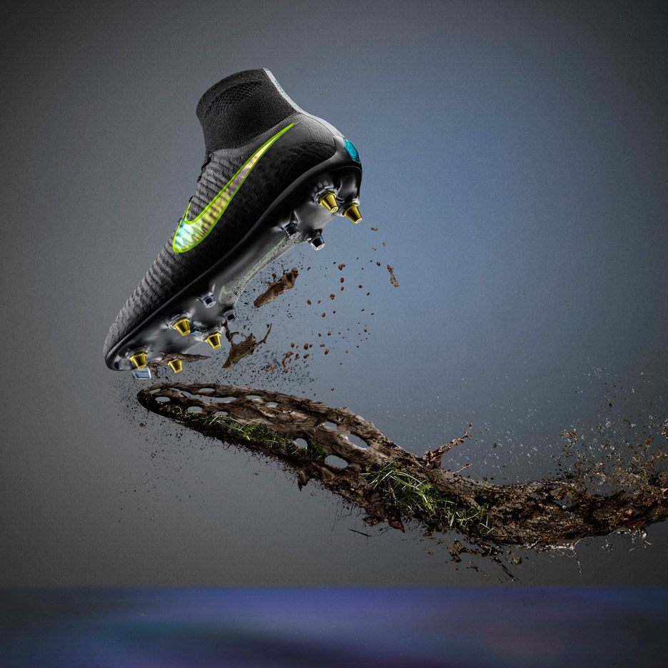 a44a377da AntiClog trainers and VaporMax trainers by Nike   football branding ...