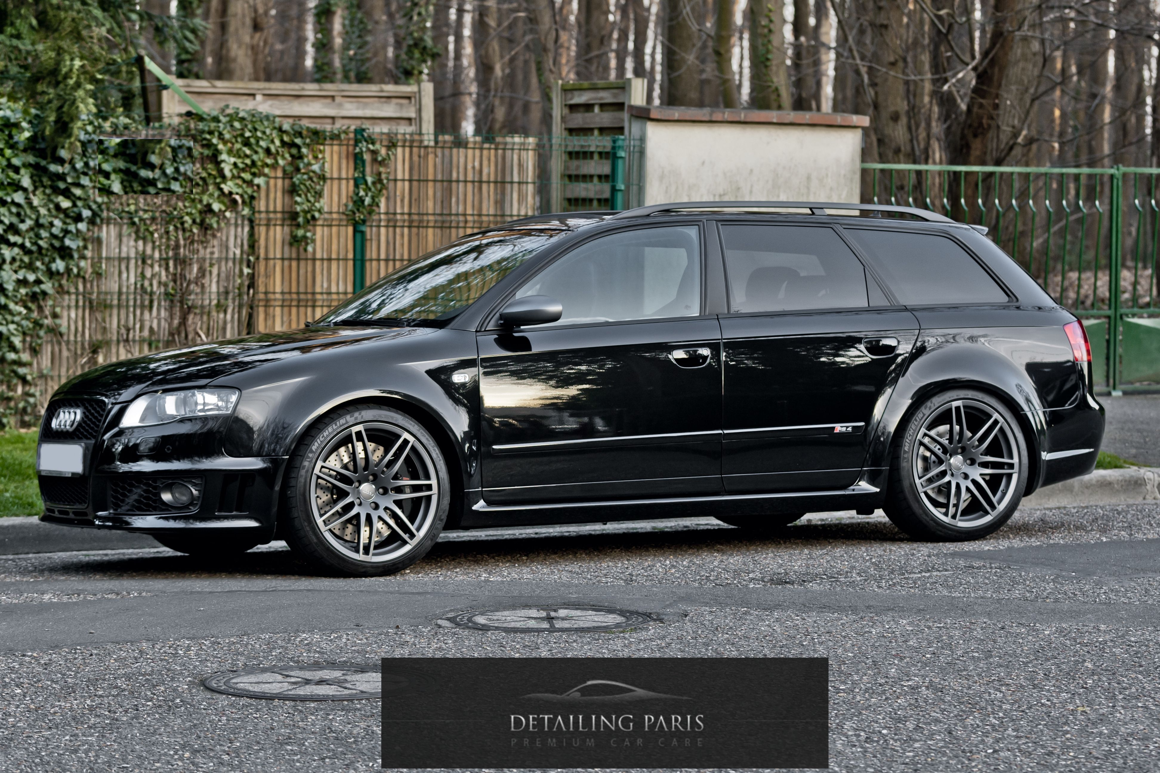 audi rs4 by detailing paris audi rs4 b7 black edition. Black Bedroom Furniture Sets. Home Design Ideas
